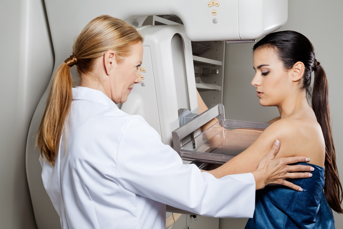 Mammograms show fat tissue and cancer cells the same way. (Photo: Shutterstock)