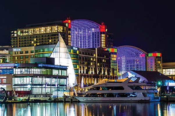 Check out this beautiful sight with your loved one. (Photo: nationalharbor.com)