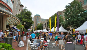 The two-day Taste of Reston food fest comes to Reston Town Center this Friday and Saturday. (Photo: Reston Town Center)