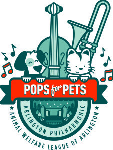 Pops for Pets is a concert for pets and their owners. (Graphic: Animal Welfare League of Arlington)