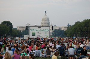 Screen on the Green on the National Mall, the DMV's longest running outdoor movie series, returns Mondays July 20-Aug. 10. (Photo: skgstyle/Flickr)