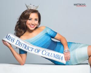 Miss D.C. 2014 Teresa Davis (Photo: Matt Boyd Photography)