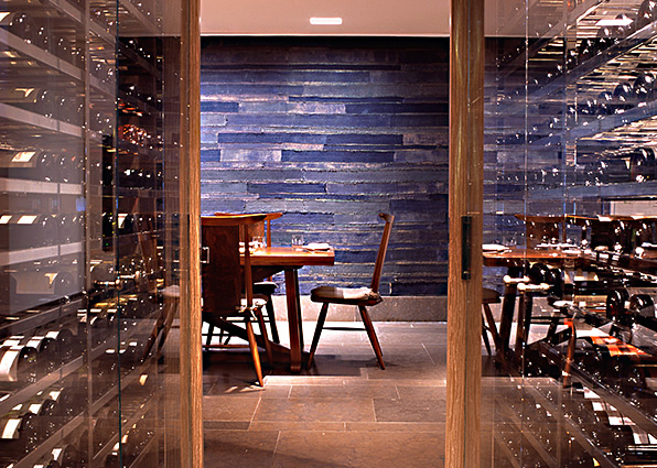 The chef's wine cellar at Blue Duck Tavern. (Photo: Blue Duck Tavern)