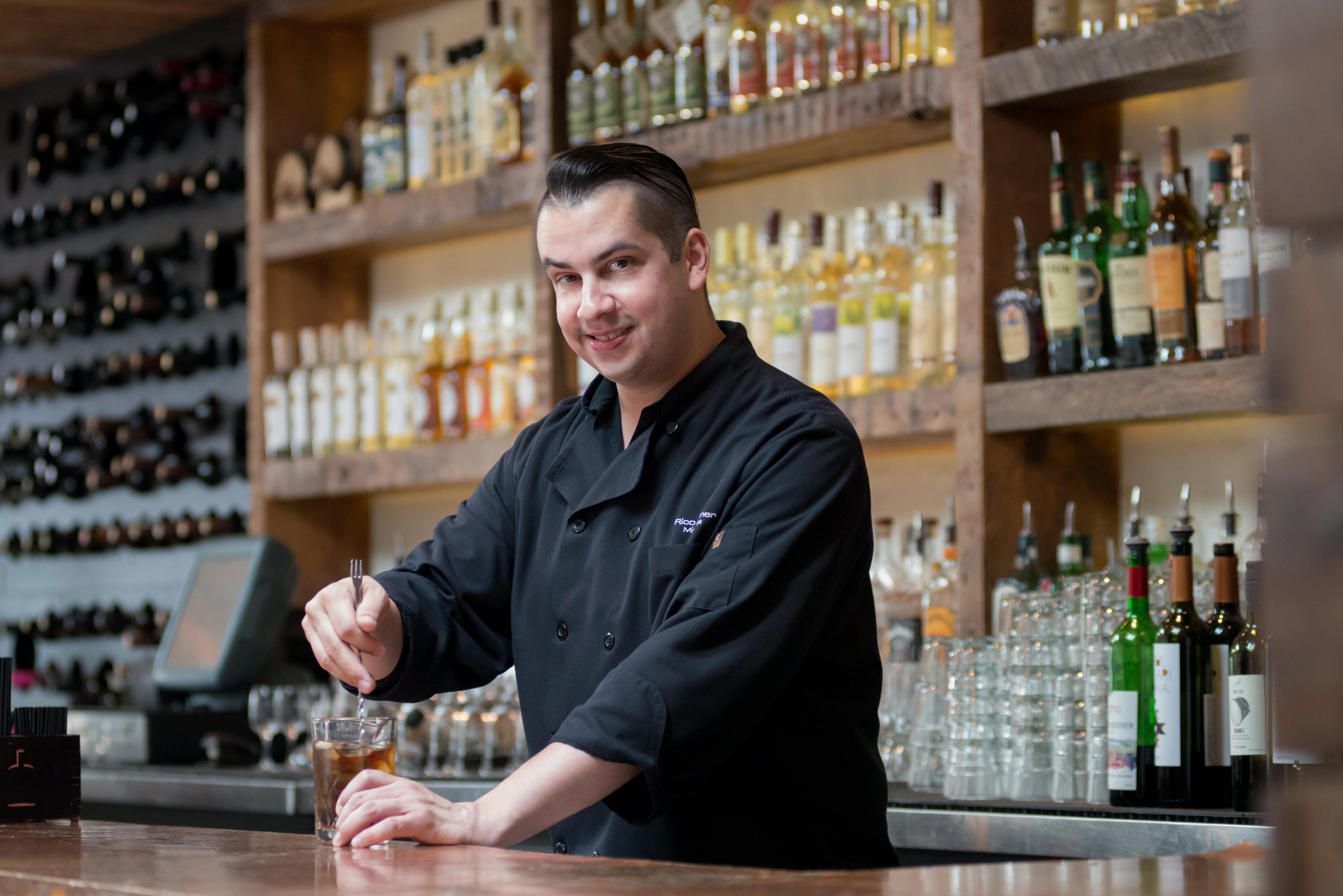 Rico Wisner is Ambar's new brand mixologist. (Photo: Ambar)