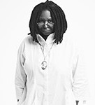 Whoopi Goldberg comes to the Kennedy Center Friday night. (Photo: Kennedy Center)