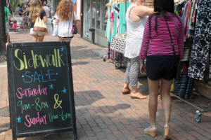 Shop Old Town and Del Ray this weekend for bargains up to 80 percent off during Summer Sidewalk Days. (Photo: Visit Alexandria)