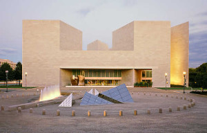 The National Gallery of Art East Building's auditorium reopens this weekend with free movies. (Photo: National Gallery of Art)
