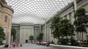 The National Portrait Gallery's Kogod Courtyard will be filled with athletes, balls and kids on Saturday. (Photo: Wikimedia)