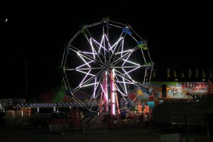 The carnival at the Loudon County Fair opens at 1 p.m. on Friday and Saturday. (Photo: Loudon County Fair/Facebook)