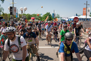 The D.C. Sunshine Ride goes through NOMA and Brookland on Sunday. (Photo: New Belgium Brewing)