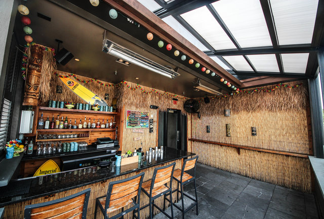 Jack Rose Dining Saloon's tiki bar opens for the summer on Thursday. (Photo: Thrillist)