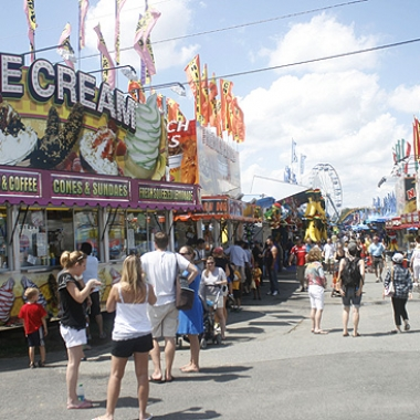 It's time for the Montgomery County Agricultural Fair and all the fair food you can handle. (Photo: Katie Maciocha)