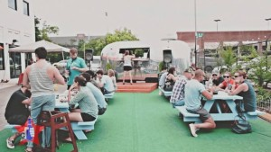 D.C. Beer Week kicks off with Brewers on the Block at Suburbia outside Union Market. (Photo; D.C. Beer Week)