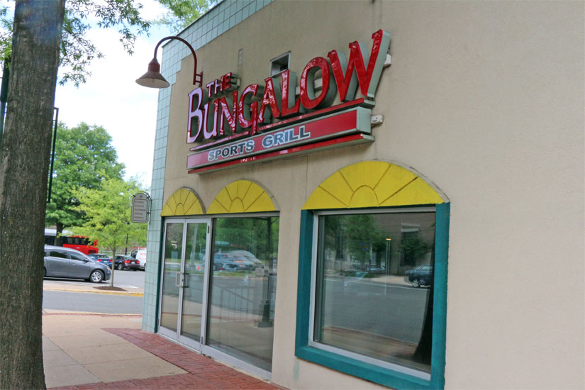 Dudley Sport and Ale will replace Bungalow Sports Grill in the Village of Shirlington. (Photo: ARLnow)