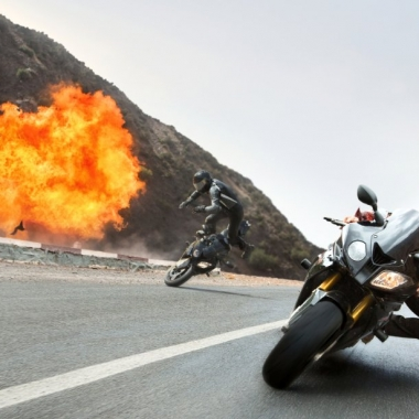 Mission: Impossible - Rogue Nation finished on top at the weekend box office for the second week, beating out Fantastic Four. (Photo: Bo Bridges/Universal Pictures)