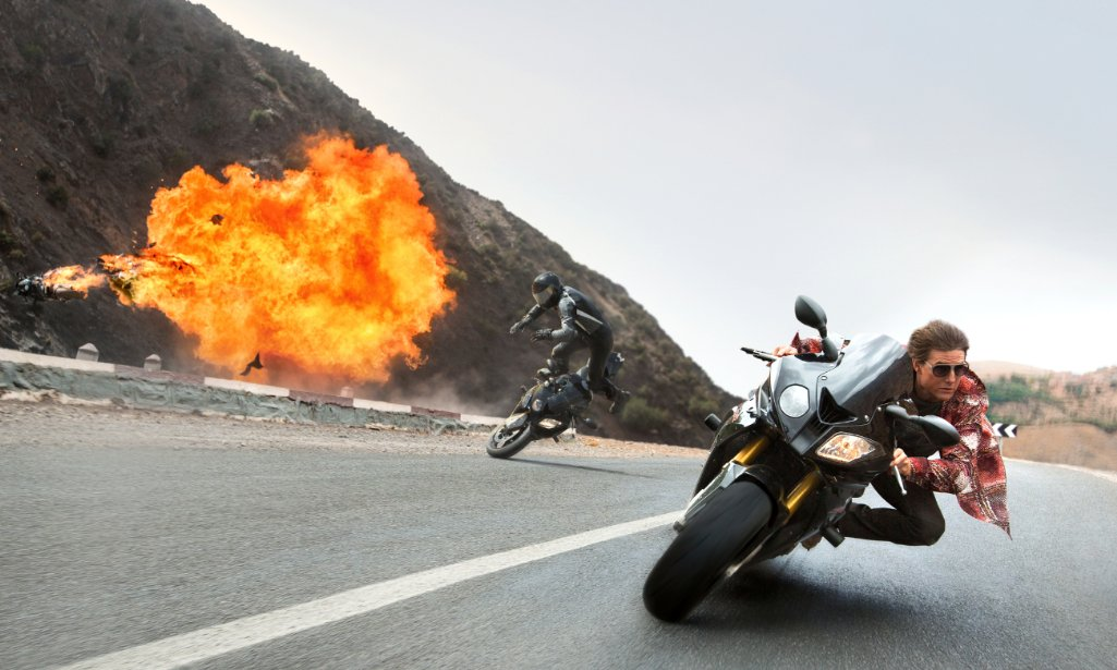 <em>Mission: Impossible - Rogue Nation</em> finished on top at the weekend box office for the second week, beating out <em>Fantastic Four</em>. (Photo: Bo Bridges/Paramount Pictures)