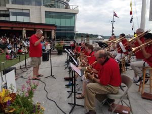 The Southern Maryland Jazz Orchestra will perform a free concert at National Harbor on Friday. (Photo: National Harbor)