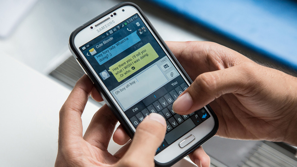 Eighty percent of study participants had sexted in the past year. (Photo: Mashable)
