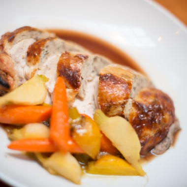 Among the Alexandria Restaurant Week choices at the Majestic Cafe is the twice roasted chicken. (Photo: Majestic Cafe)