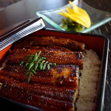 Sushiko will be serving ina-jyu, a dish made of broiled eel and rice, all month long. (Photo: Paula Olinto)