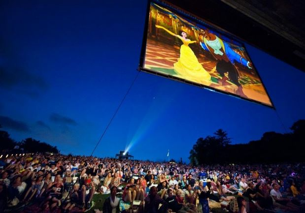 Disney in Concert features music from Disney classics along with clips from the movies. (Photo: Wolf Trap)