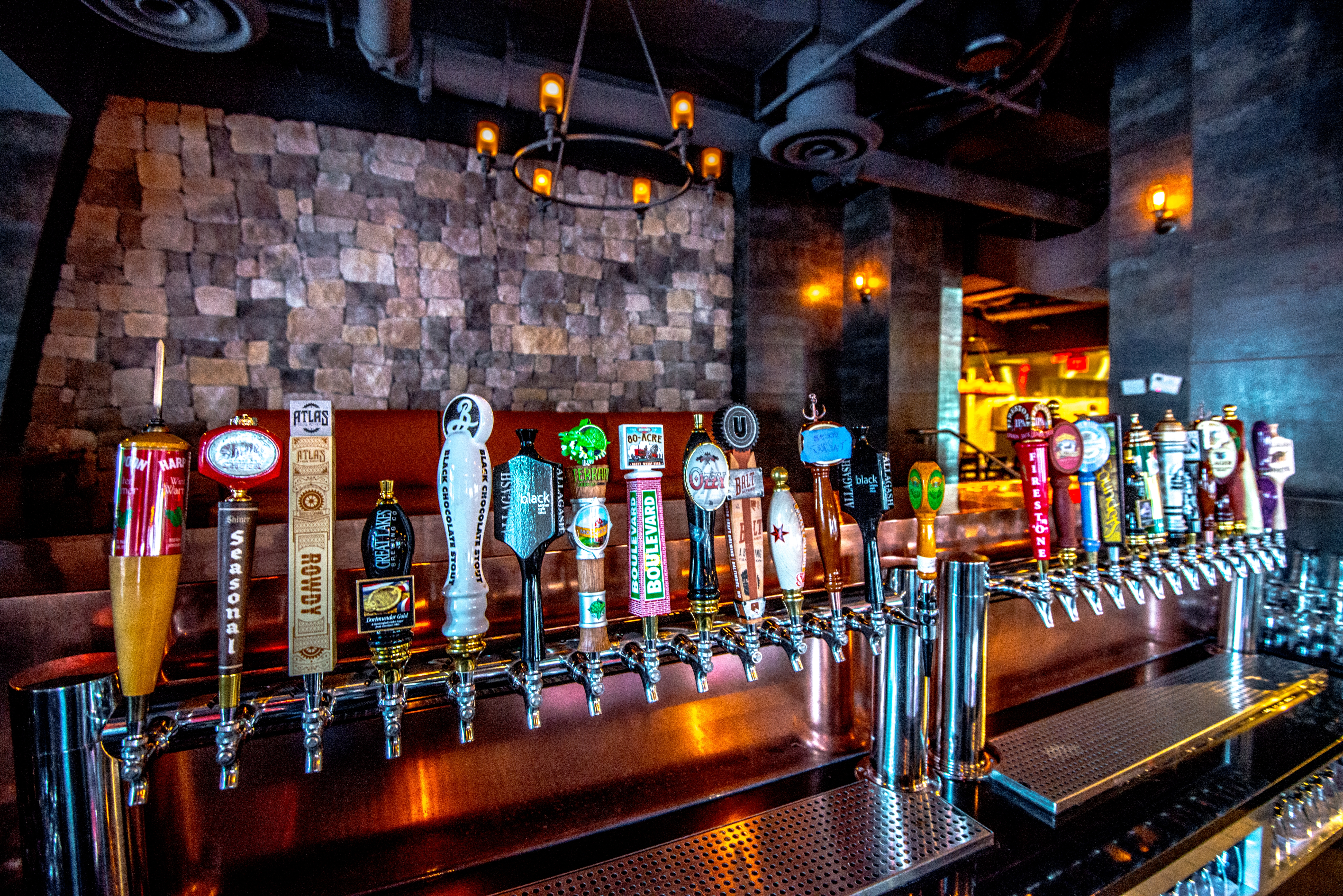 Belgium beers will flow from City Tap House's taps on Thursday.  (Photo: Dan Swartz)