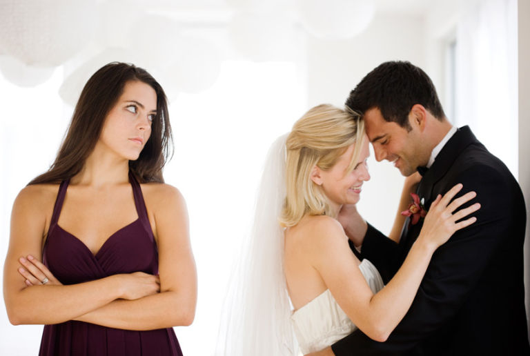No one ever wants to see their ex get married. (Photo: Jamie Grill)