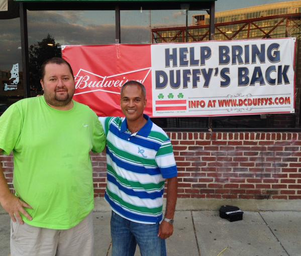 Duffys Irish Pub hopes to reopen in mid-September under new ownership. (Photo: Sedrick Muhammad/Twitter)