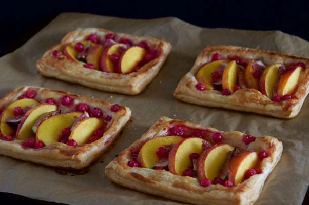 The tarts are tasty fresh out of the oven or at room temperature. (Photo: The Cullinary Chase)