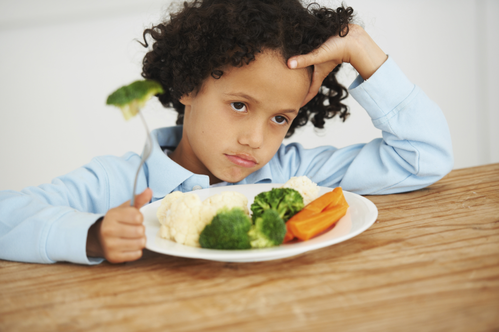 About 1 in 5 children is a picky eater, and a new study says these kids are more likely than their peers to suffer from psychological disorders. (Photo: rushedmommy.com)