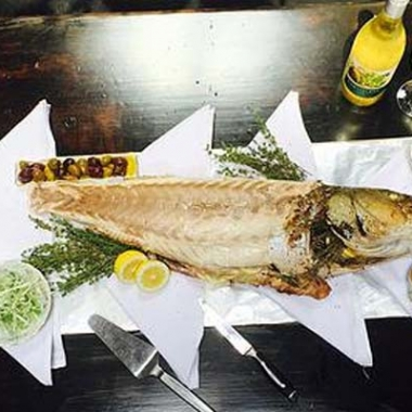 Cashion's Eat Place will serve a whole, roasted rockfish dinner on Wednesday for $55 per person. (Photo: Cashion's Eat Place)