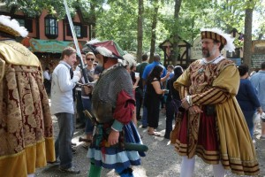 King Henry VIII in the Royal Parade at the Maryland Renaissance Festival. (Photo: Marty Magic)