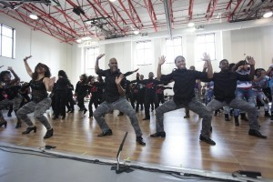 Step Afrika takes its Step Xplosion to all eight wards of the city. (Photo: Step Afrika)