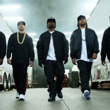 Straight Outta Compton, which opened at the top of the weekend box office, is the story of N.W.A., a gangsta rap group. (Photo: Universal Pictures)