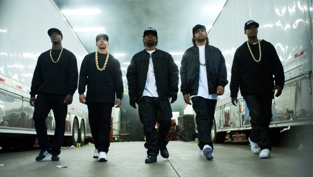 <em>Straight Outta Compton</em>, which opened at the top of the weekend box office, is the story of N.W.A., a gangsta rap group. (Photo: Universal Pictures)