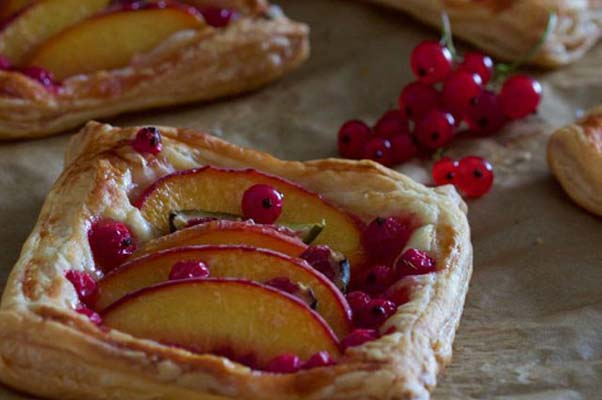 These tarts are quick and easy using store-bought puff pasty. (Photo: The Cullinary Chase)