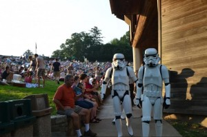"""Star Wars"" Imperial Stormtroopers attend last year's NSO tribute to John Williams. (Photo: Oscar Banos)"