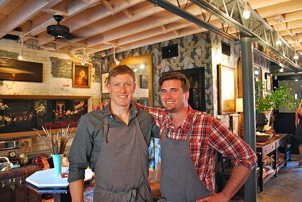 Andrew Zink (left) and Jeremiah Langhorn will open The Dabney in Blagdon Alley. (Photo: The Dabney/Facebook)