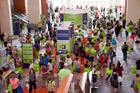 Visitors at last year's National Book Festival. (Photo: National Book Festival)