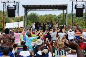 Jazz returns to Rosslyn's Gateway Park Saturday. (Photo: Arlington Magazine)