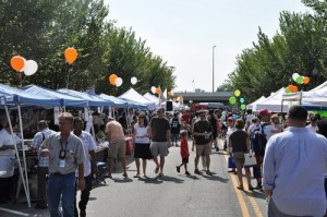 The Barraks Row Fall Festival takes over Eighth Street SE on Saturday. (Photo: Popville)