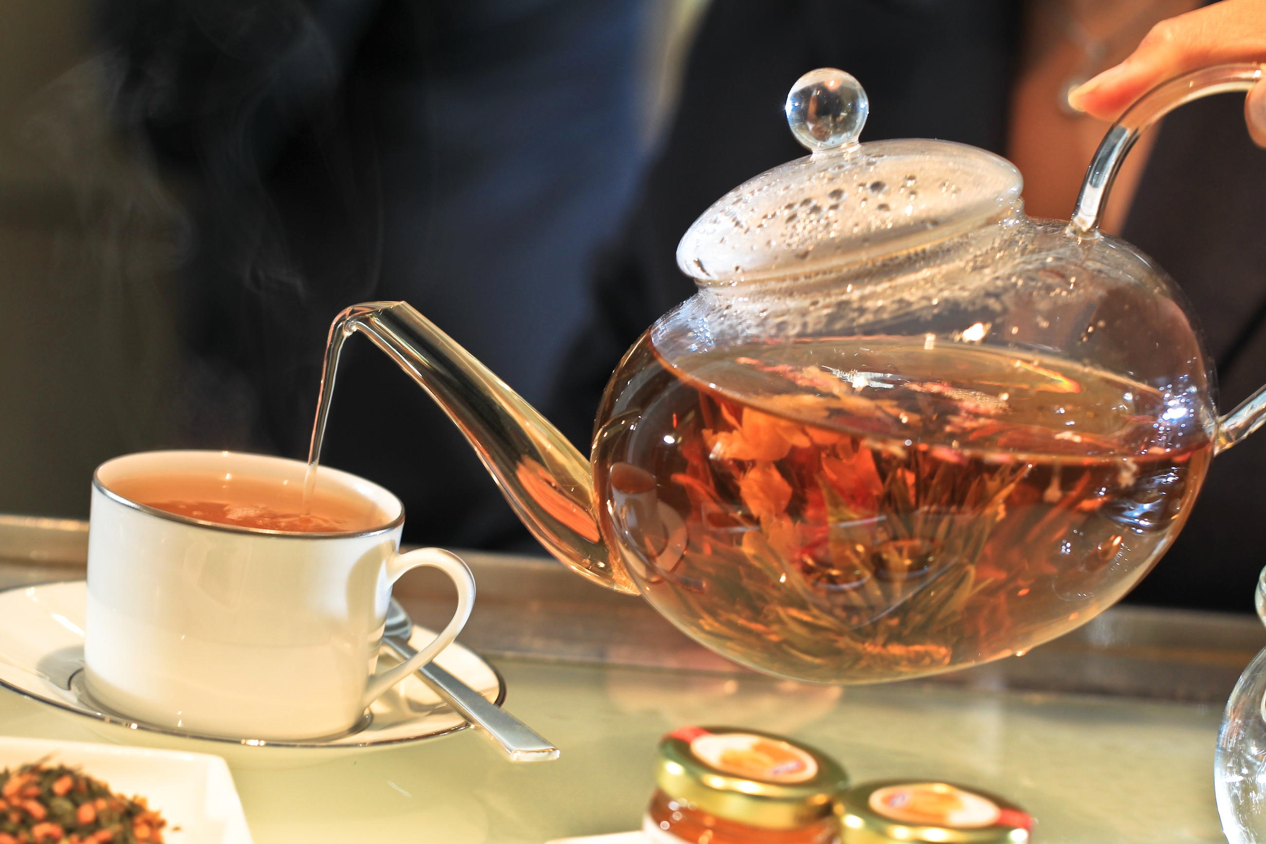 The Park Hyatt Washington is offering its Tea Table tea service in its tea cellar on weekends with savory and sweets to go with the tea. (Photo: Park Hyatt Washington)