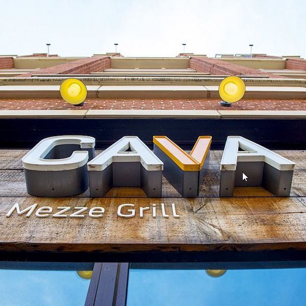 Cava Grill's 15th store will be south of Dupont Circle and join four others in the city, including this one in Columbia Heights. (Photo: Cava Grill/Instagram)