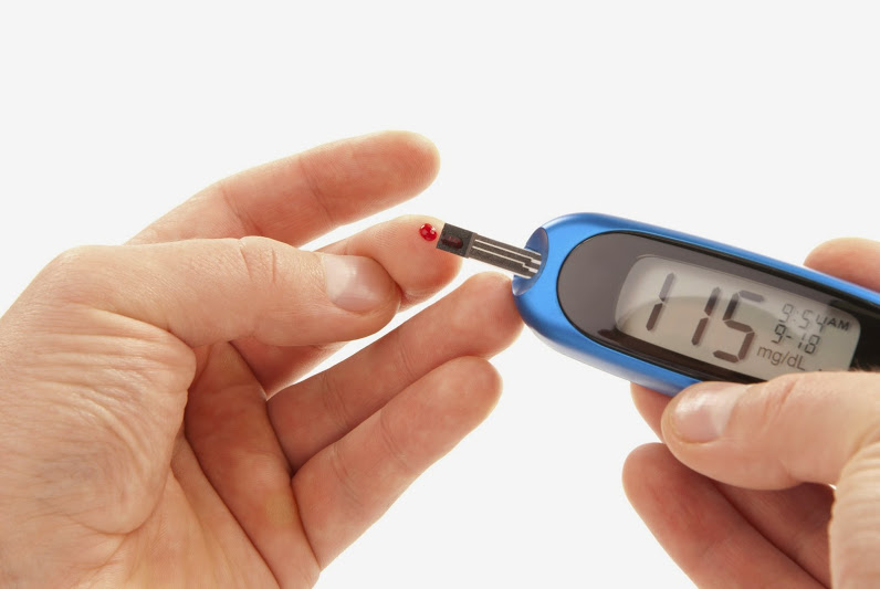 Diabetes and pre-diabetes are diagnosed by blood glucose levels.