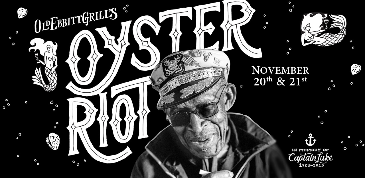 Tickets go on sale Tuesday for Old Ebbitt Grill's Oyster Riot. (Graphic: Old Ebbitt Grill)