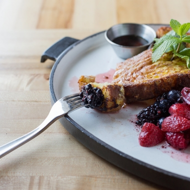 Urban Butcher will begin serving Saturday brunch on Sept. 12 including country bread French toast. (Photo: Urban Butcher)