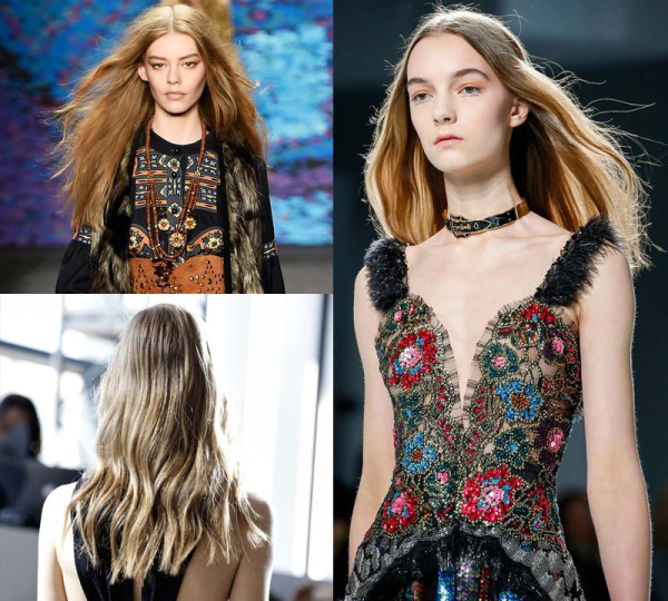 Models from deisgners Anna-Sui, Jason-Wu and Rodarte. (Photos: Pinterest)