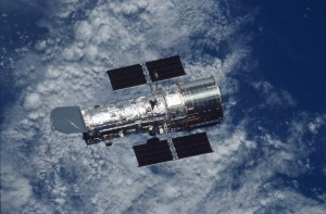 NASA's Goddard Space Flight Center in Greenbelt is celebrating the 25th anniversary of the launch of the Hubble telescope. (Photo: NASA)