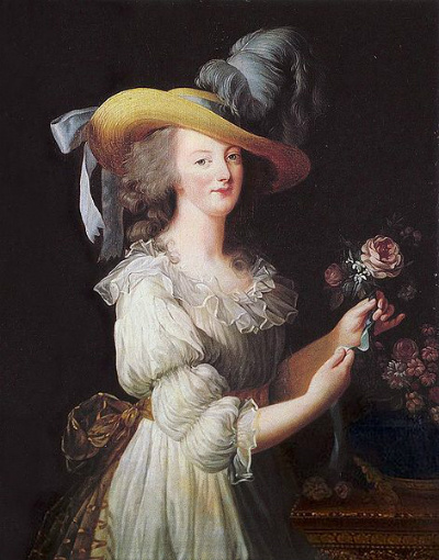 Portrait of Marie-Antoinette (Painting by Elisabeth Vigee-Lebrun/National Gallery of Art)