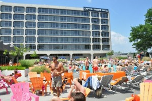 Sunday is the last Sunday Splash pool party at the Capitol Skyline Hotel. (Photo: Capitol Skyline Hotel)